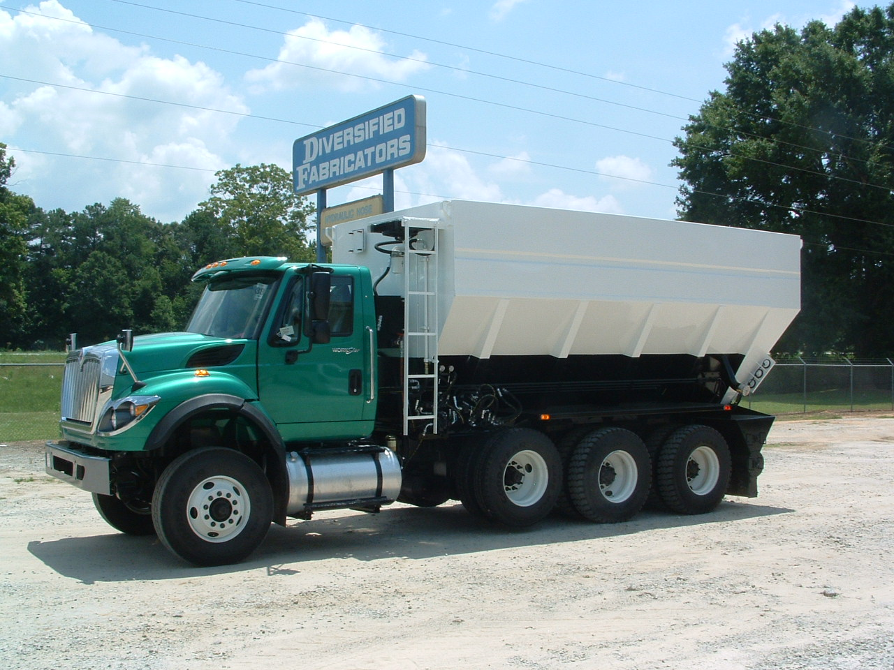 Soil Stabilization / Portland Cement Spreader