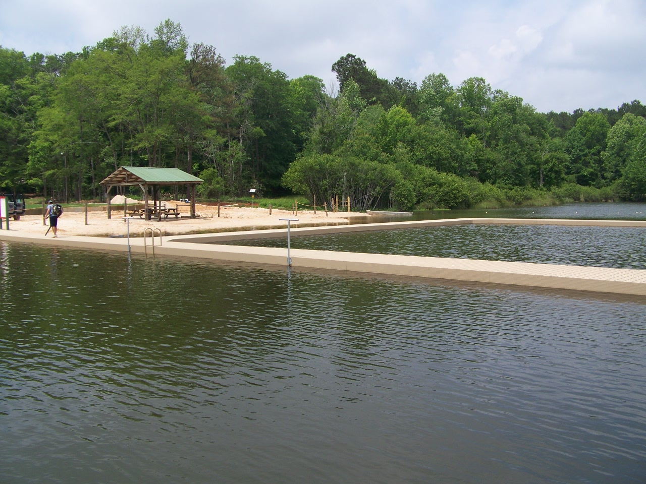 Swimming Area dock