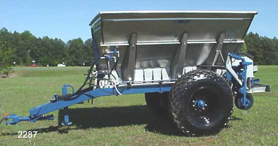 Fertilizer Spreader - Pull type