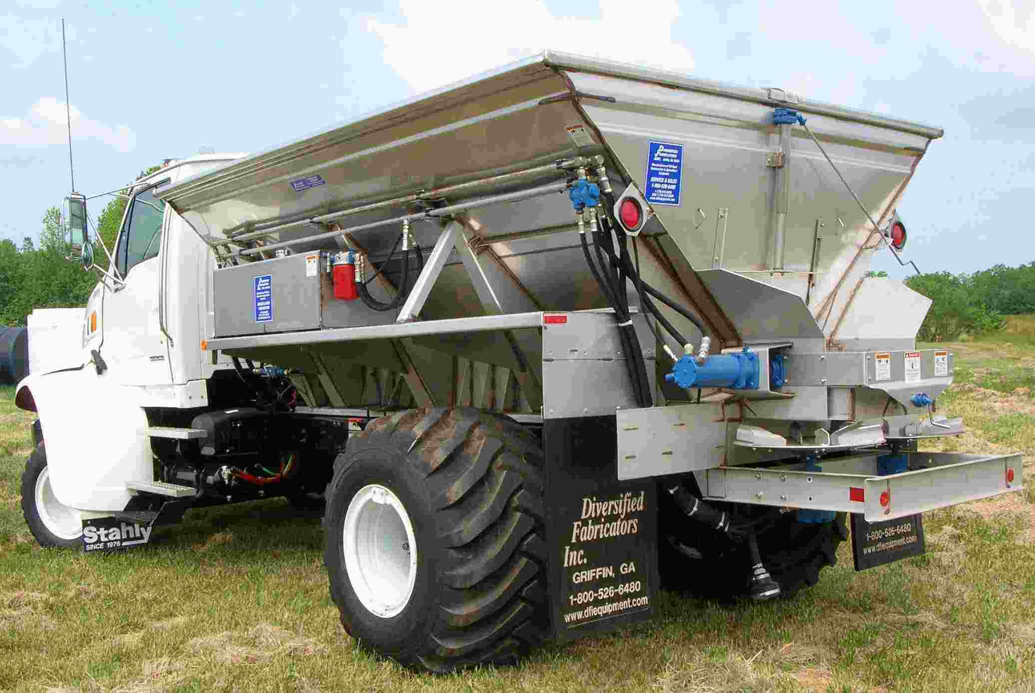 Truck Mounted Fertilizer Spreader